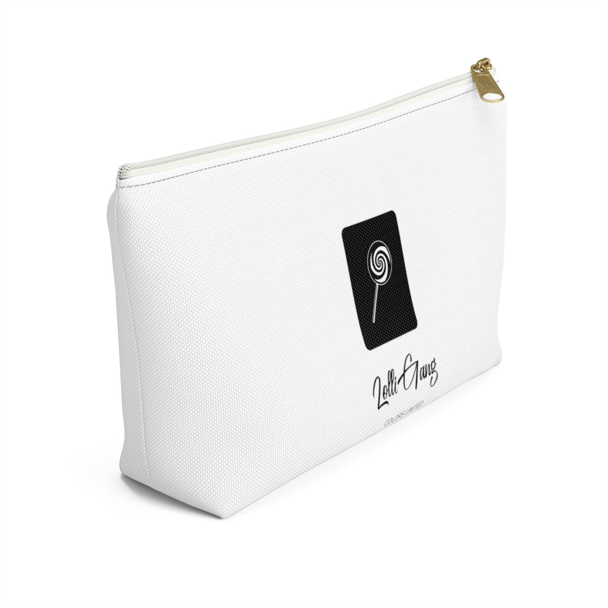 LOLLI GANG Logo Accessory Pouch (white)