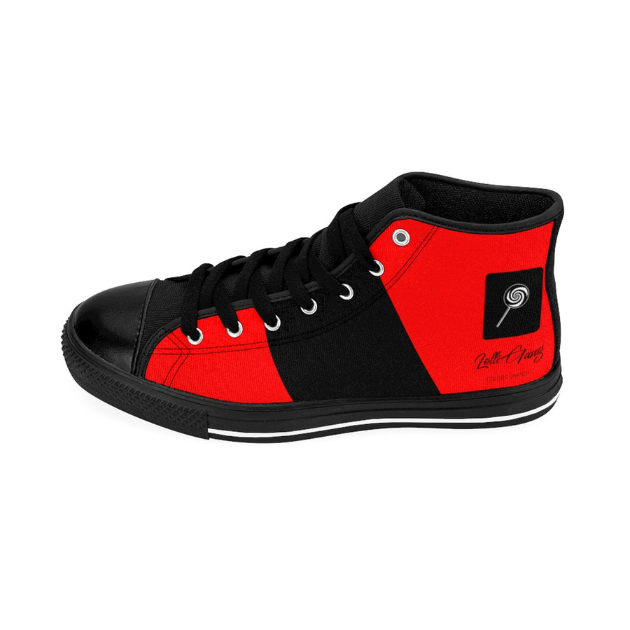 LOLLI GANG Women's High-top Sneakers (red)