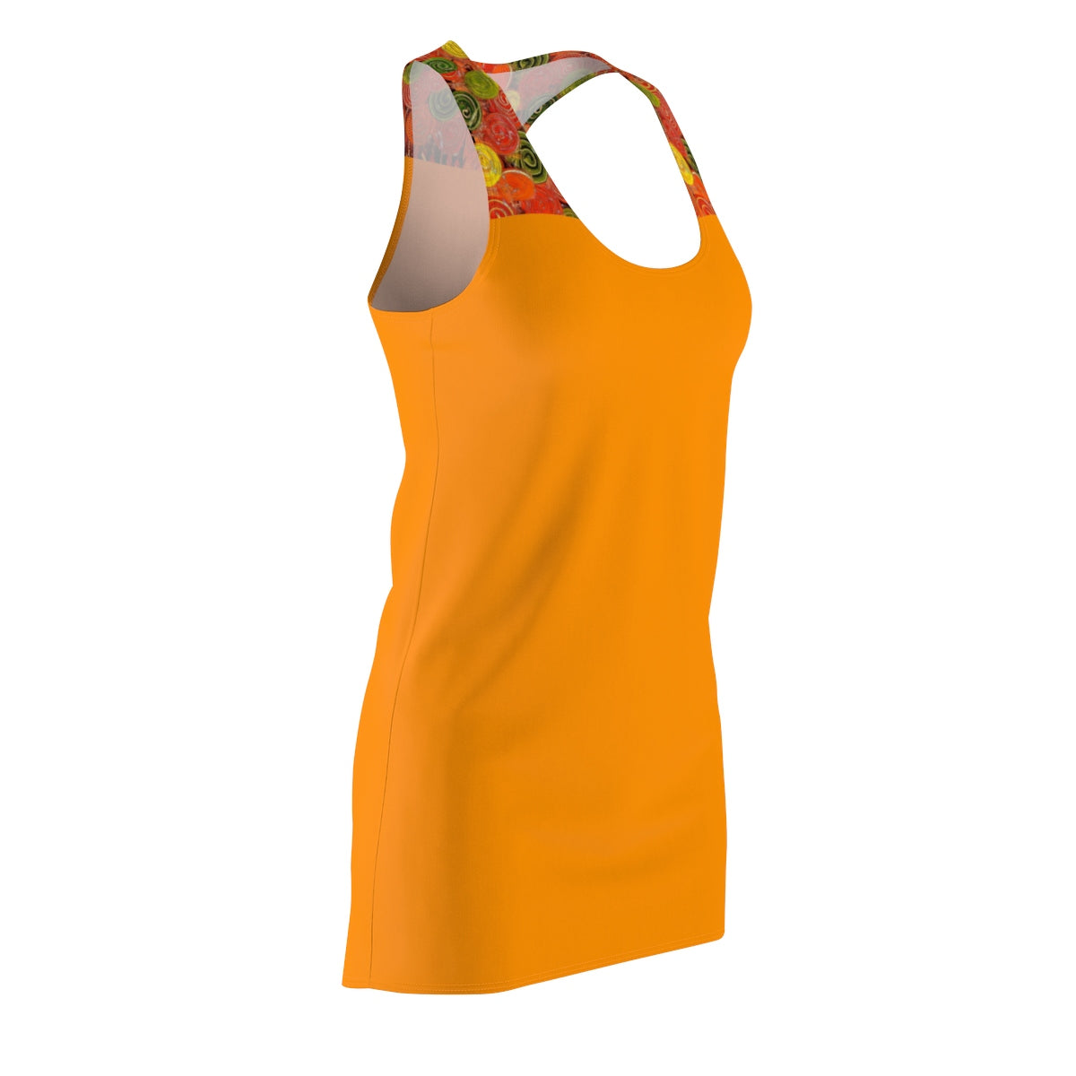 LOLLI GANG Women's Racerback Dress (orange)
