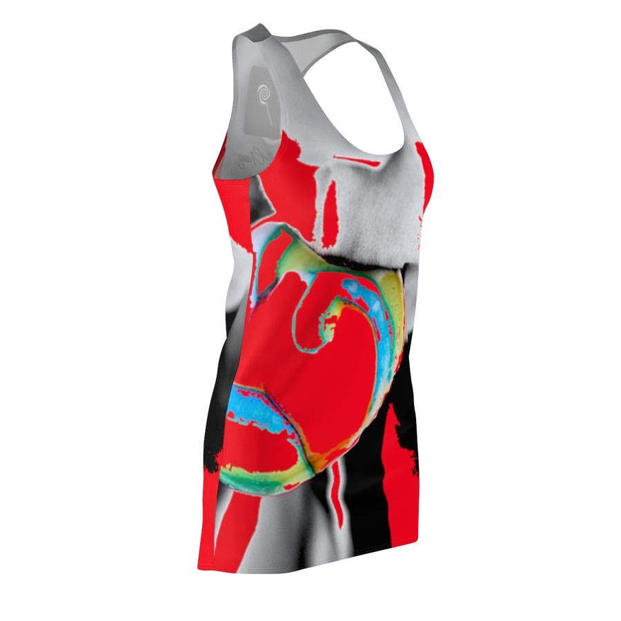 LOLLI GANG Women's Racerback Dress (red)