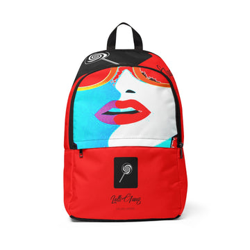 LOLLI GANG Kiss Collection Backpack (red)