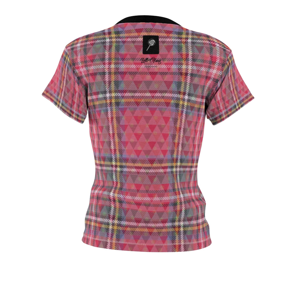 Lolli Gang Women's Plaid Tee