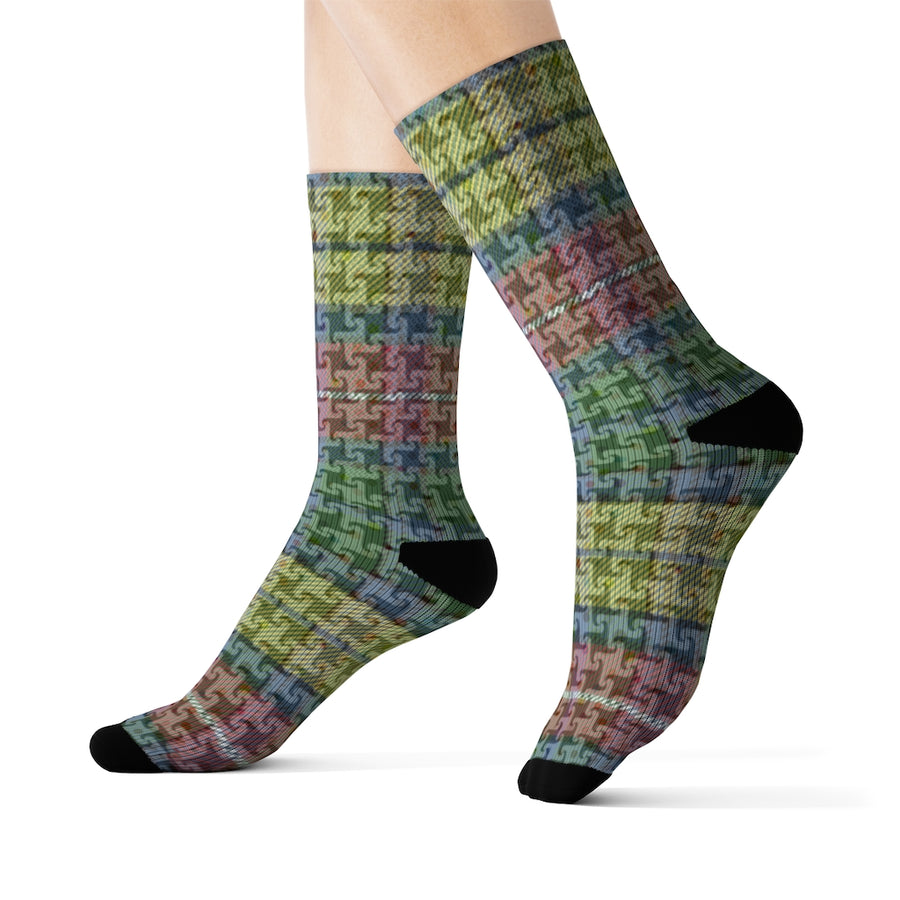 Lolli Gang Plaid Socks