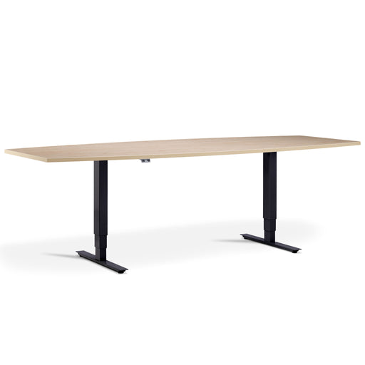 Advance Height Adjustable Barrel Meeting Table