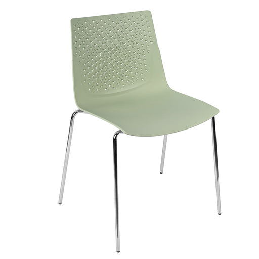 Flex Polypropylene 4 Leg Base Bistro/Meeting Chairs