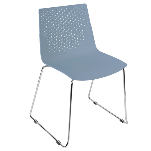 Flex Polypropylene Skid Base Bistro/Meeting Chairs