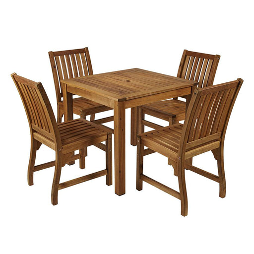 HARDY Outdoor Dining Set - Solid Wood Out door Dining Set