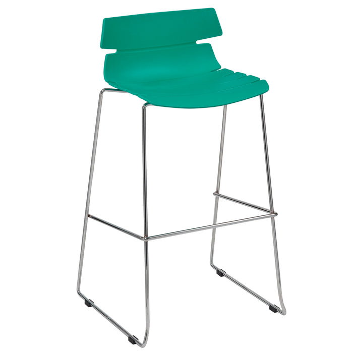 HOXTON High Stool with Skid Base Bistro/Meeting Chairs