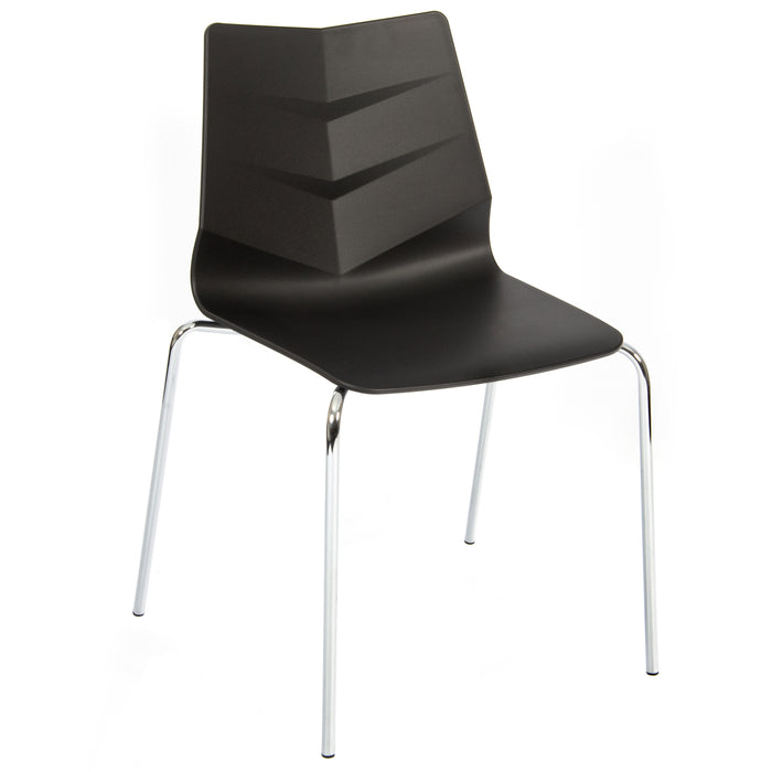 LEAF Polypropylene 4 Leg Base Bistro/Meeting Chairs