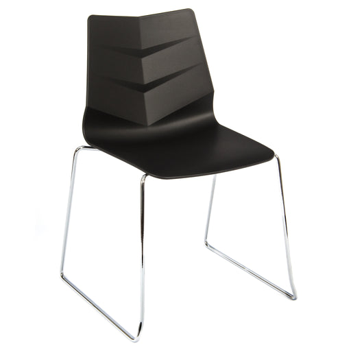 LEAF Polypropylene Skid Base Bistro/Meeting Chairs