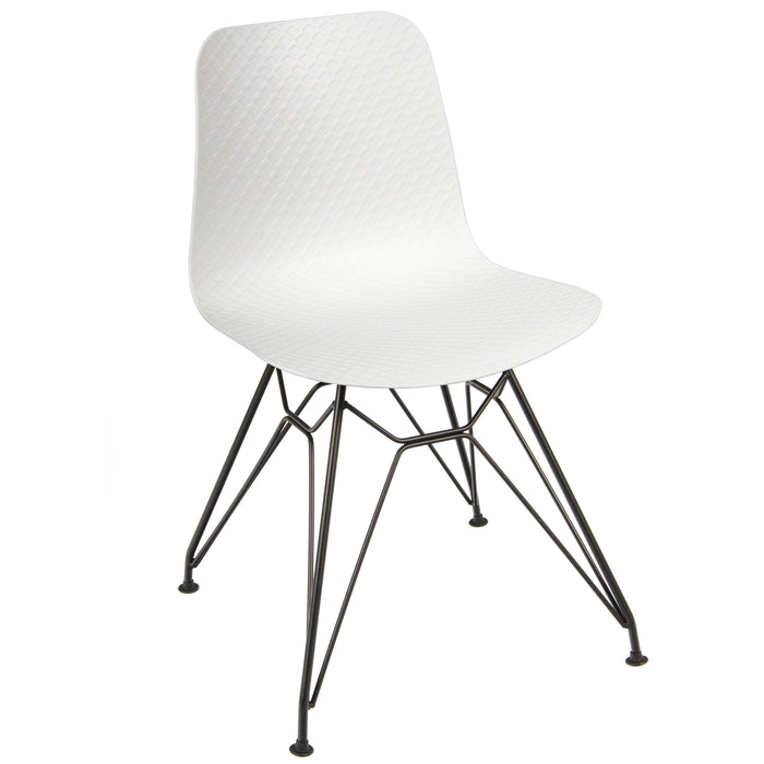 NET Polypropylene Style Side Bistro/Meeting Chairs