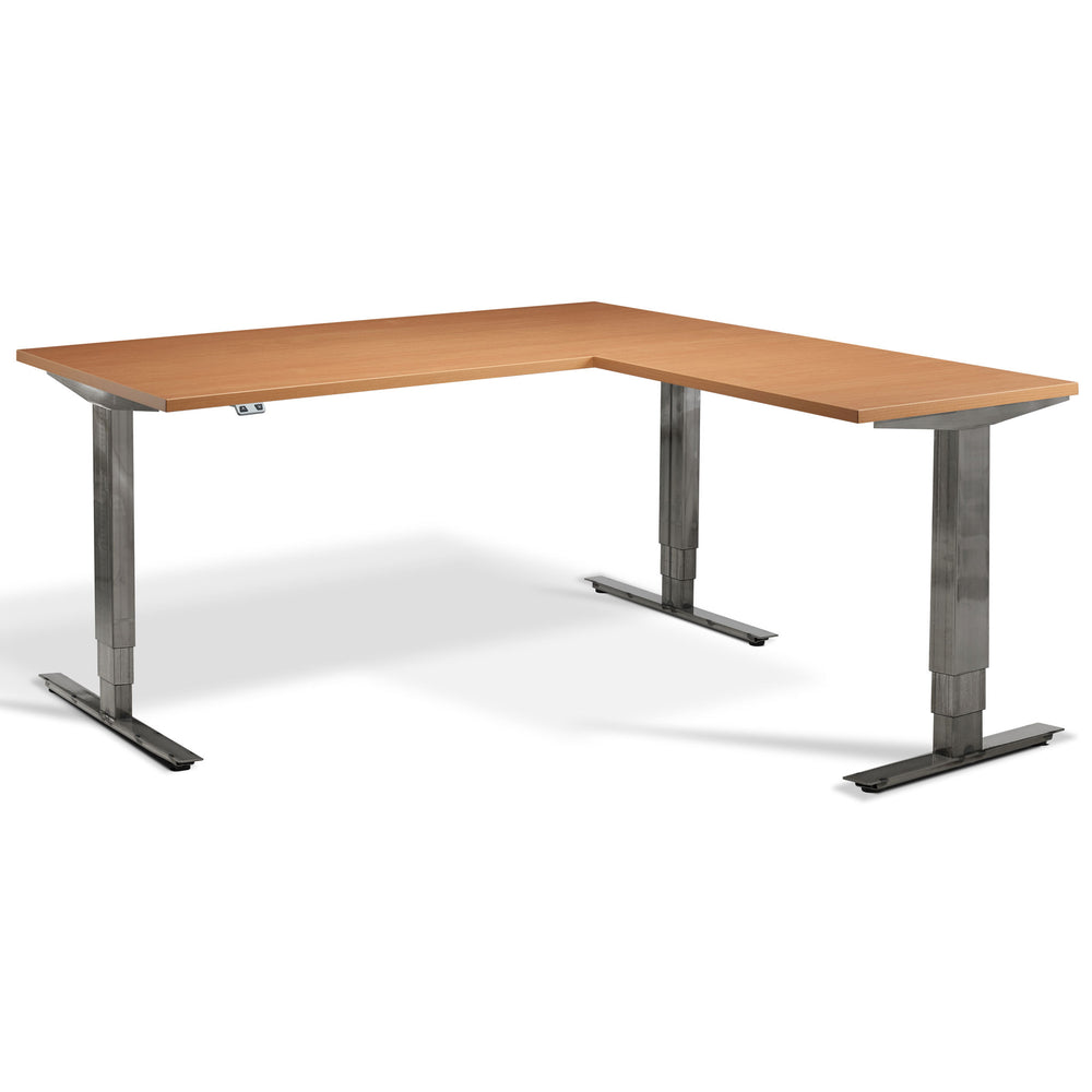 FORGE Corner Height Adjustable - Sit-Stand Desks
