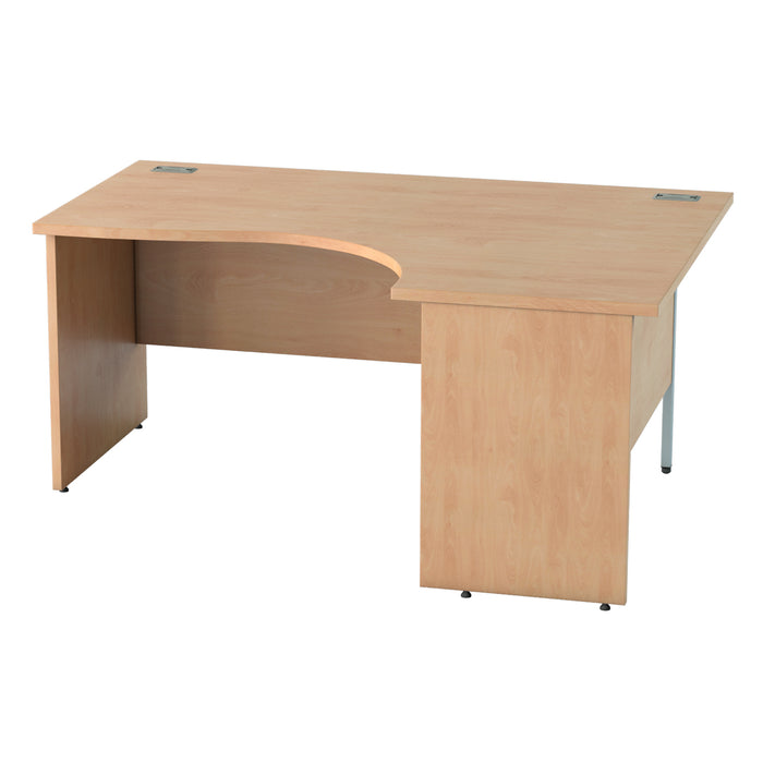 Panel legged Crescent desks