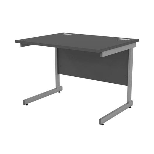 Black Rectangular Cantilever legged Desks