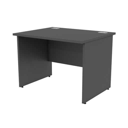 Black Rectangular Panel legged Desks