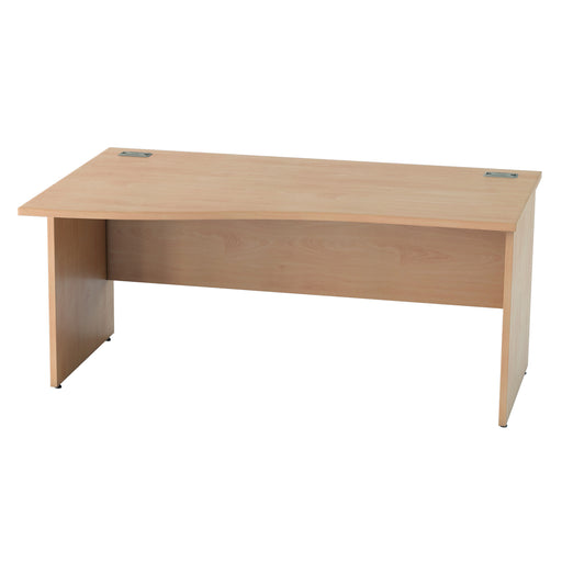 Panel legged Wave desks