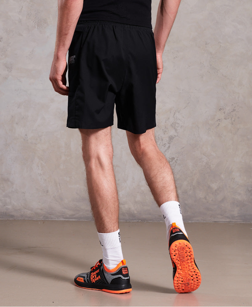 Active Double Layer Short - Black