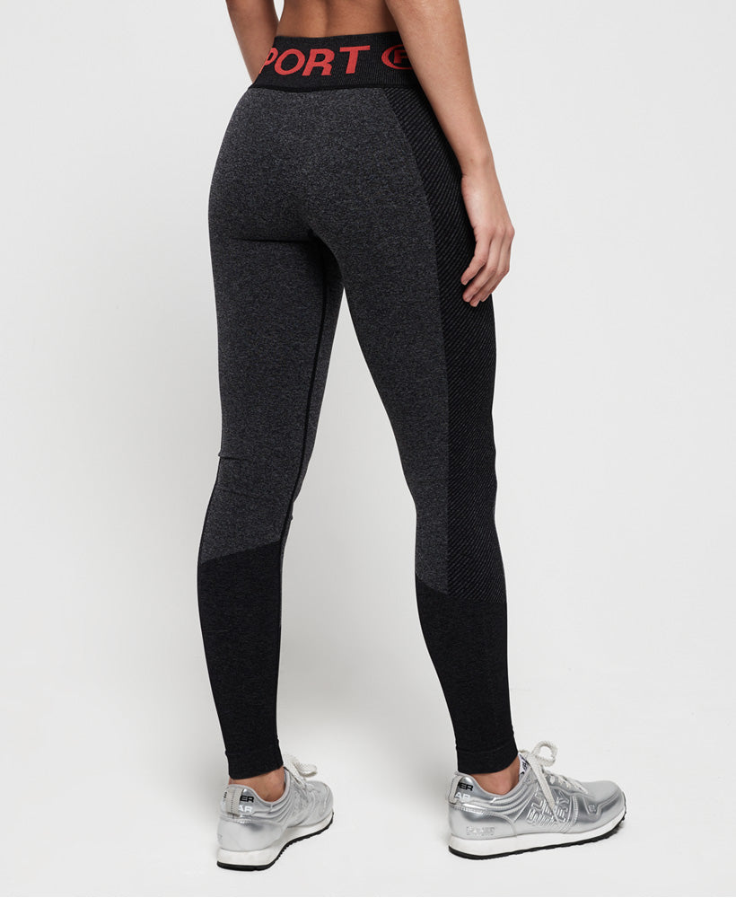 Active Seamless Leggings - Dark Grey