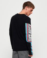 Retro Classic Long Sleeve T-Shirt - Black