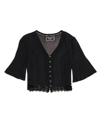 Joesphine Lace Top - Black