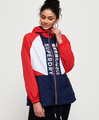 Spliced Windbreaker - Navy