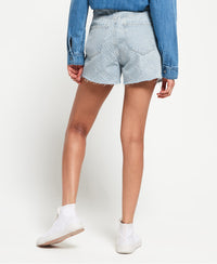 Ruby Cut Off Short - Blue