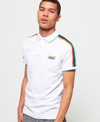 Team Sports Cali Polo - White - Superdry Malaysia