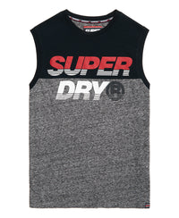 New House Cut And Sew Tank - Navy