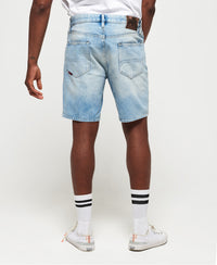 Conor Taper Shorts - Blue