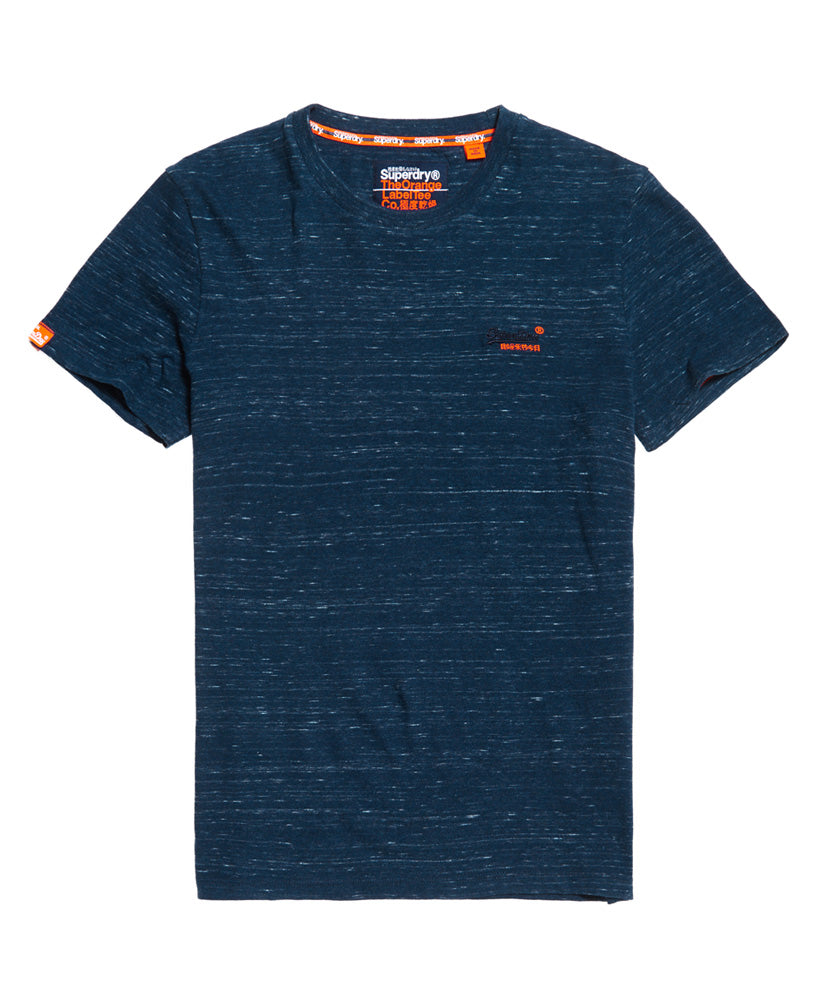 Orange Label Vintage Embroidery T-shirt - Blue