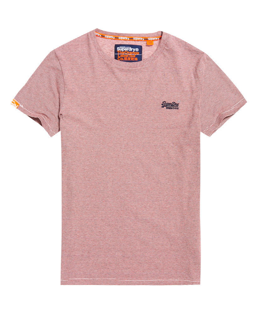 Orange Label Vintage Embroidery T-shirt - Red