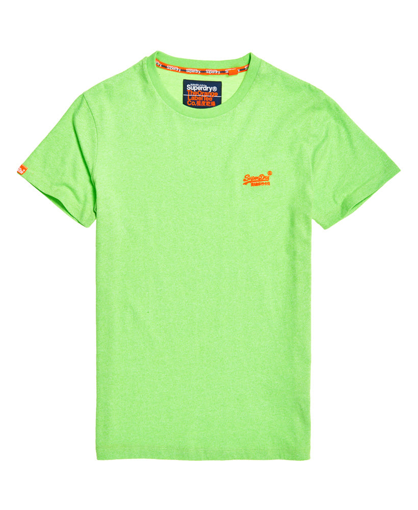 Orange Label Fluro Grit T-Shirt - Green