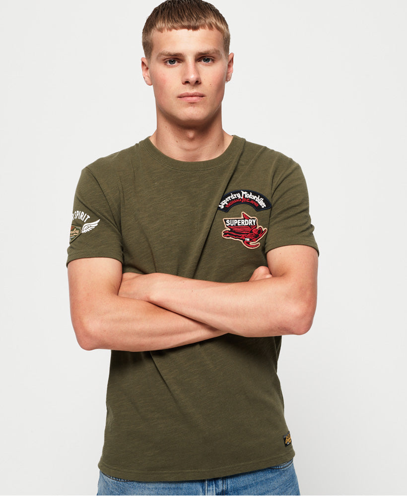 Motor Patch Tee - Green