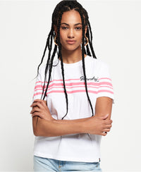 Leona Graphic Tee - White