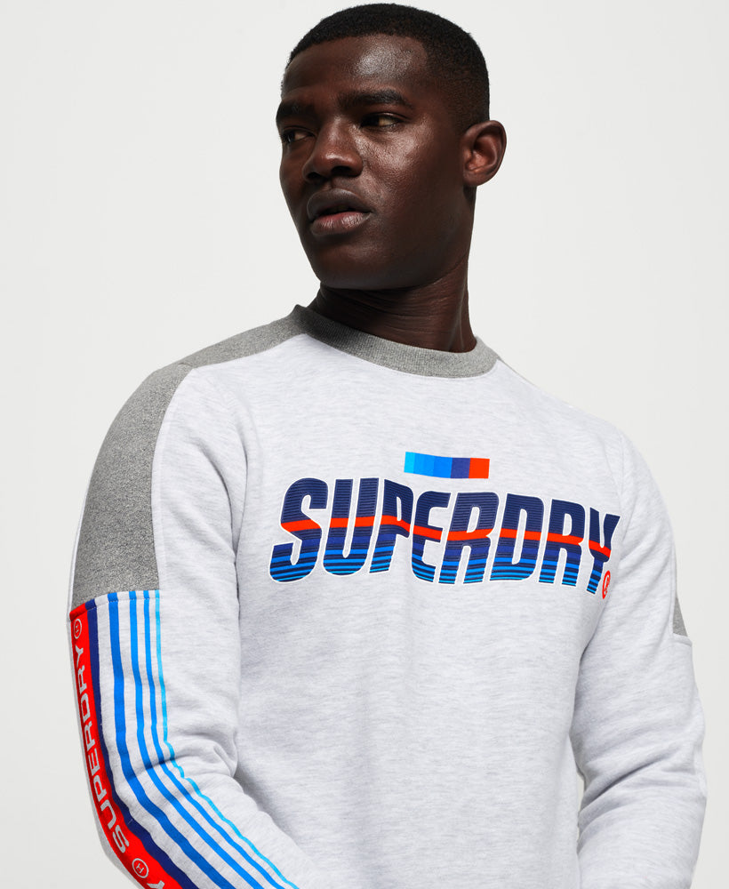 Super Surf Crew Sweatshirt - Light Grey