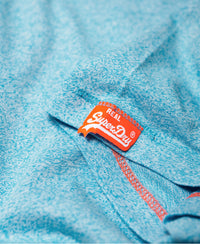 Orange Label Fluro Grit T-Shirt - Blue