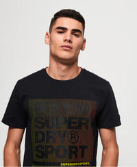 Core Graphic Ss Tee - Grey