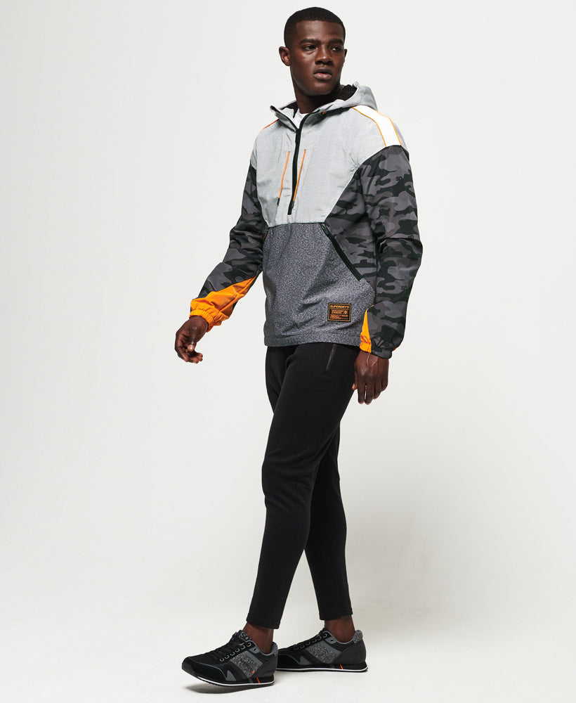 Jared Overhead Cagoule - Light Grey