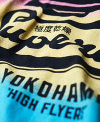 High Flyers Fade Lite Tee - Navy