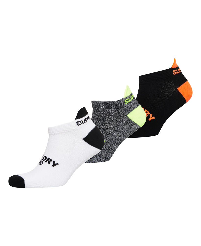 Coolmax Trainer Socks - 3 Pack - Multi