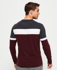 Ol Engineered L/s Top - Purple - Superdry Malaysia