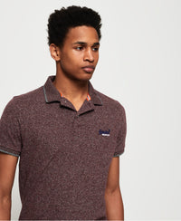Orange Label Jersey Ss Polo - Purple