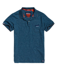 Orange Label Jersey Ss Polo - Blue