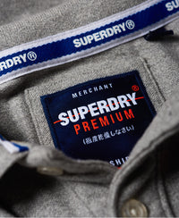Superstate Shadow Polo - Grey - Superdry Malaysia