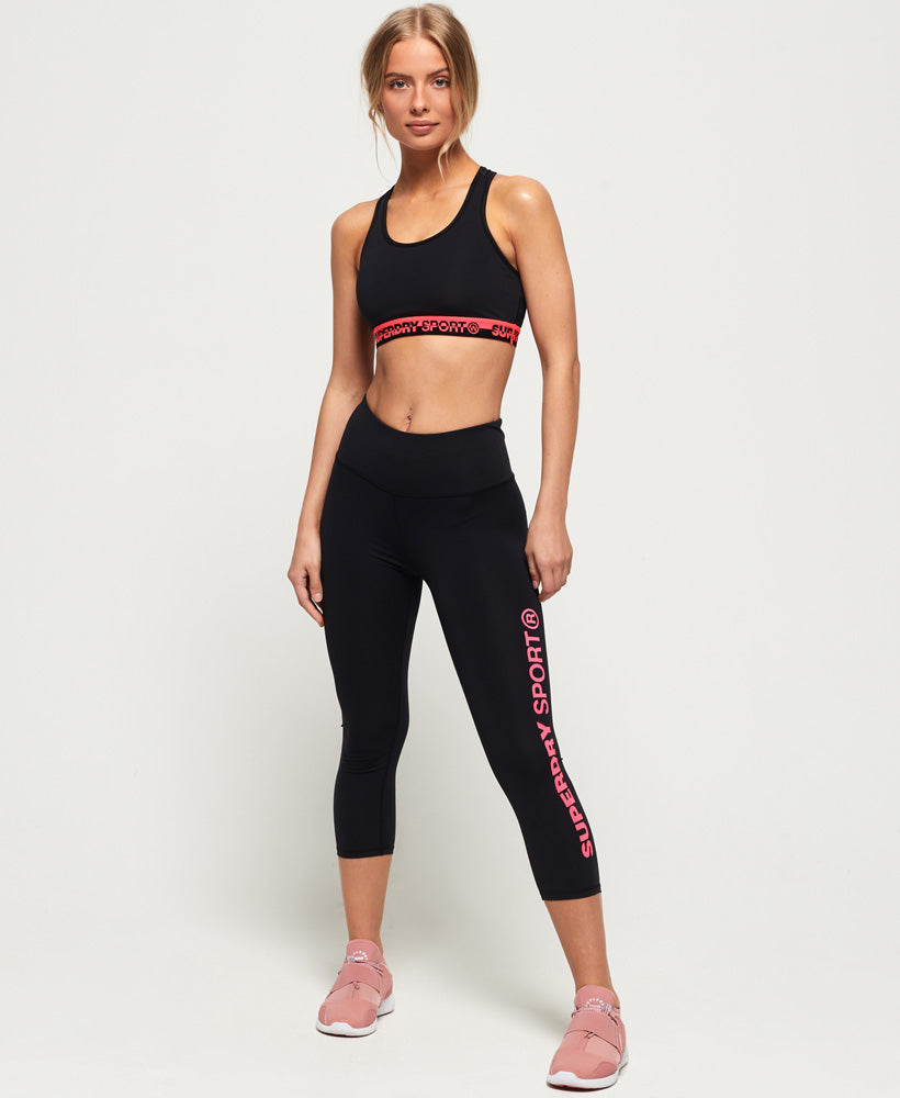 SD Core Sport Essential Capri Leggings - Black