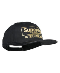 International B-boy Cap - Black