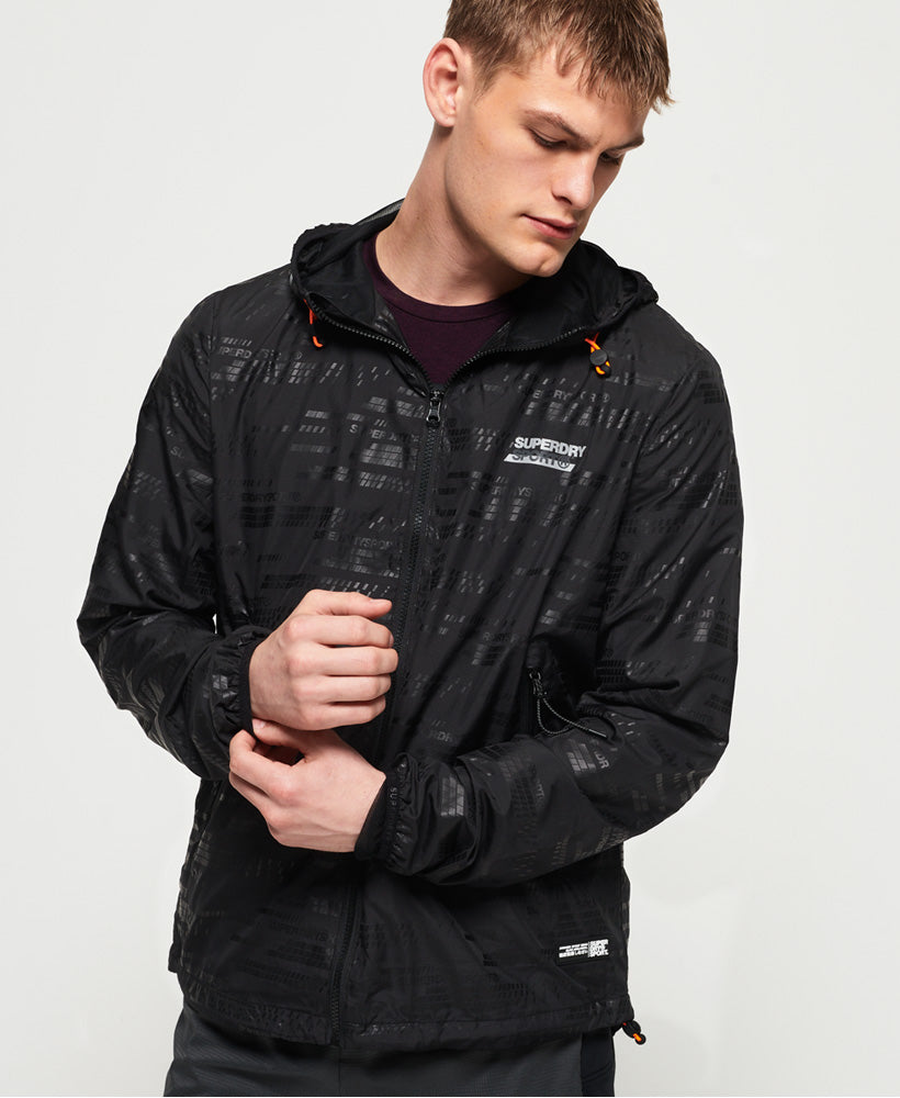 Active Lightweight Shell Jacket - Black