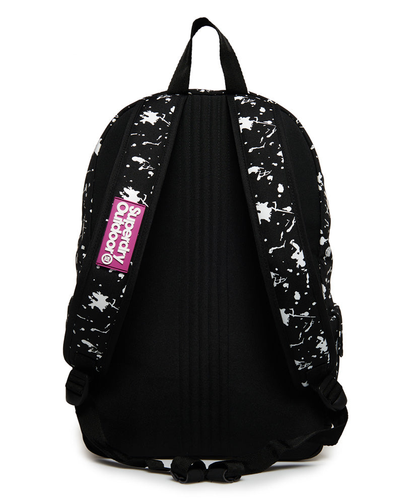 Print Edition Colour Change Montana Rucksack - Black