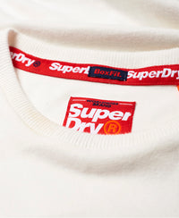 International Youth Box Fit Tee - White - Superdry Malaysia