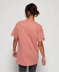 Mila Oversized Graphic T-Shirt - Pink